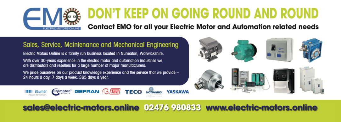 Keep a look out for our advert in June's edition of the Drives and